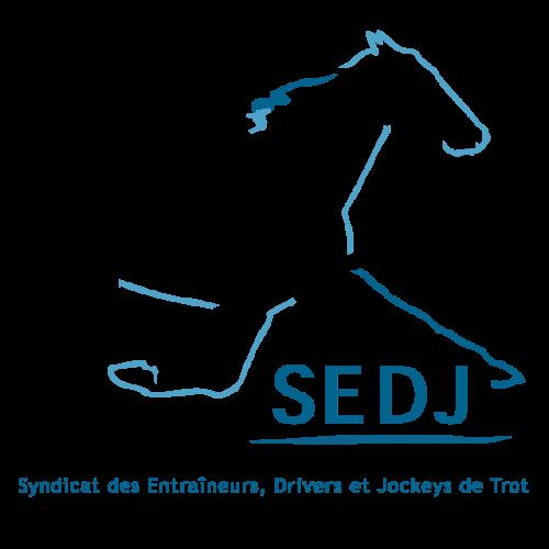 Logo Syndicat des Entraineurs, Drivers et Jockeys de Trot (SEDJ)