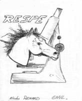 Premier logo du Respe datant de 1999, réalisé à l'occasion d'un jeu concours organisé dans les écoles vétérinaires nationales